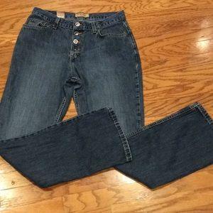 ZENA Button fly, high waist Jeans